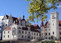Schloss Boitzenburg Feldberger Seenlandschaft